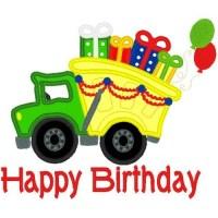 Birthday Dump Truck - NobbieNeezKids