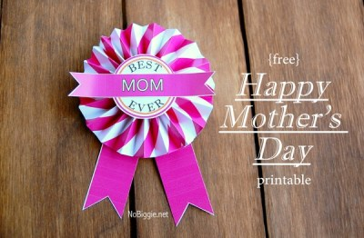 best mom ever free printable