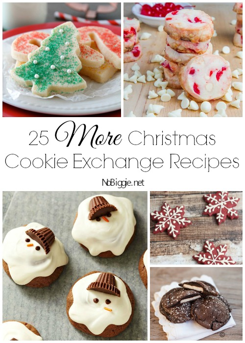 25 More Christmas Cookie Exchange Recipes
