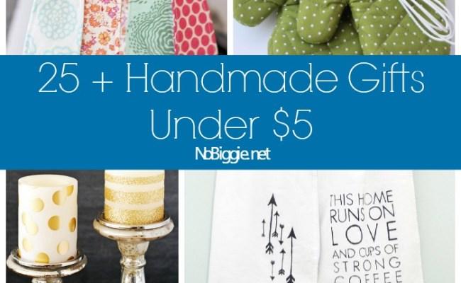 25 Handmade Gift Ideas Under 5