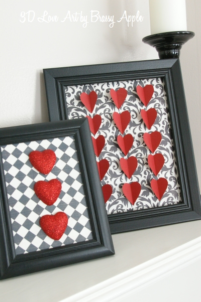3D love art - 25+ Valentine's Day Home Decor Ideas - NoBiggie.net