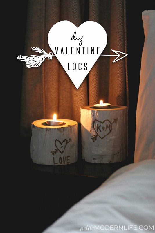 DIY Valentine Candle holders