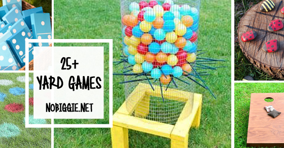25 DIY Yard Games