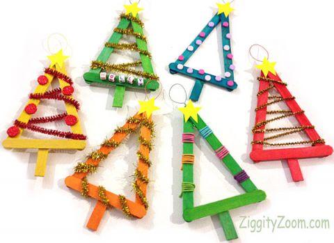 25 Ornaments Kids Can Make Nobiggie