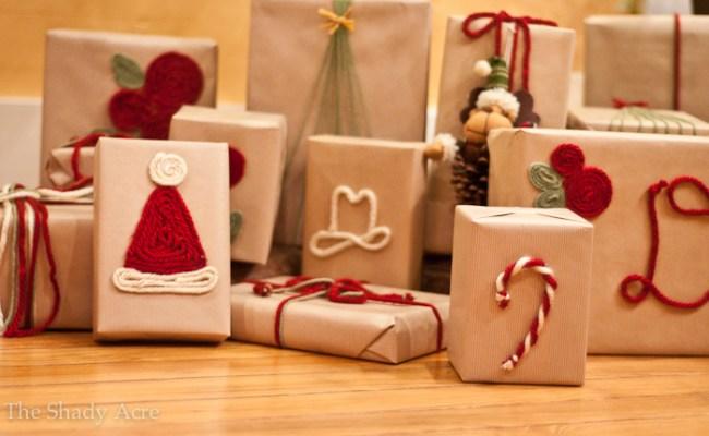 30 Christmas Wrapping Ideas Nobiggie