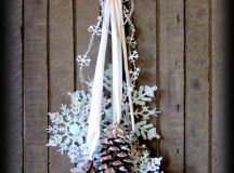 25+ Winter Decor Crafts - NoBiggie