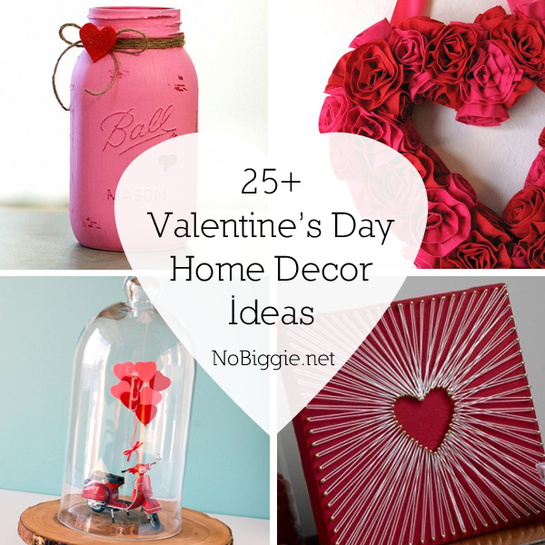 25 Valentines Day Home Decor Ideas