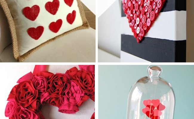 25 Valentine S Day Home Decor Ideas