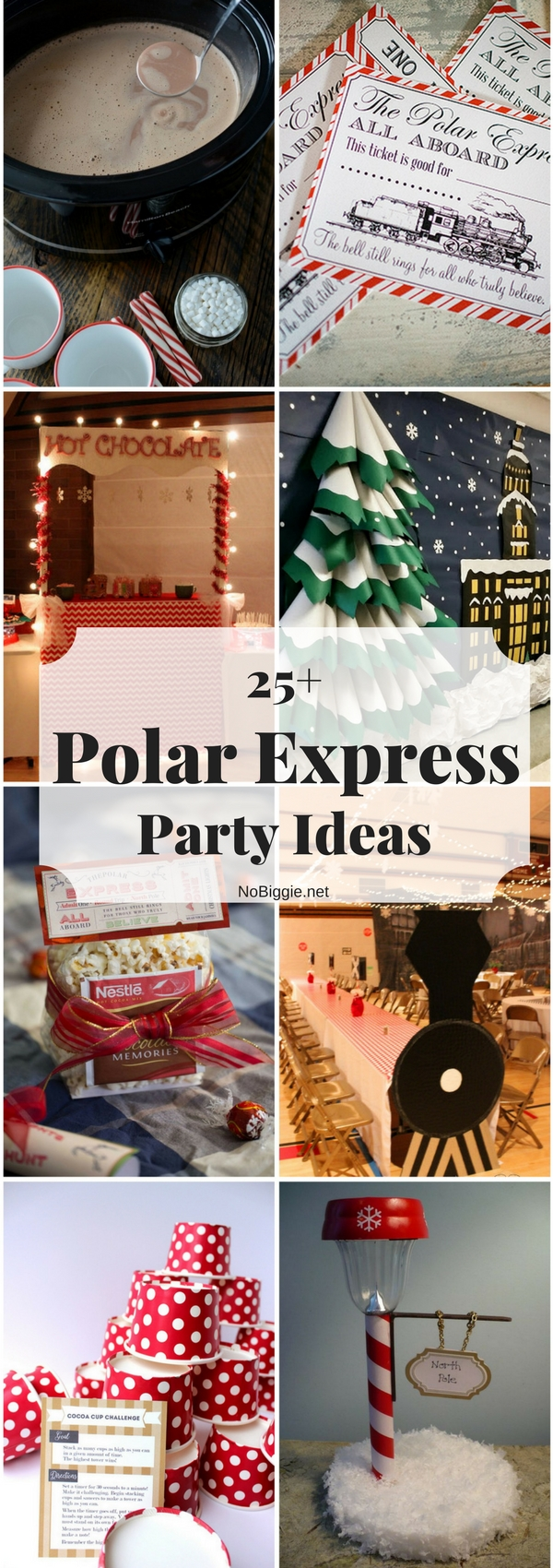 25 polar express party ideas