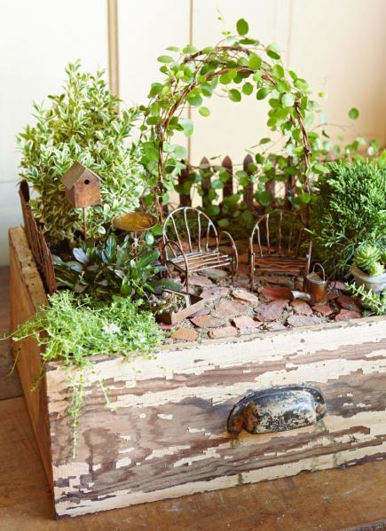 Mini Garden Projects: 16 Fairy DIY Ideas