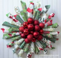 25+ More Beautiful Christmas Wreaths | NoBiggie