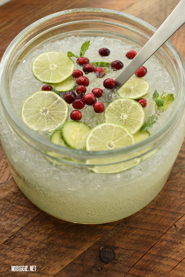 Cucumber Punch - 4th of July recipes