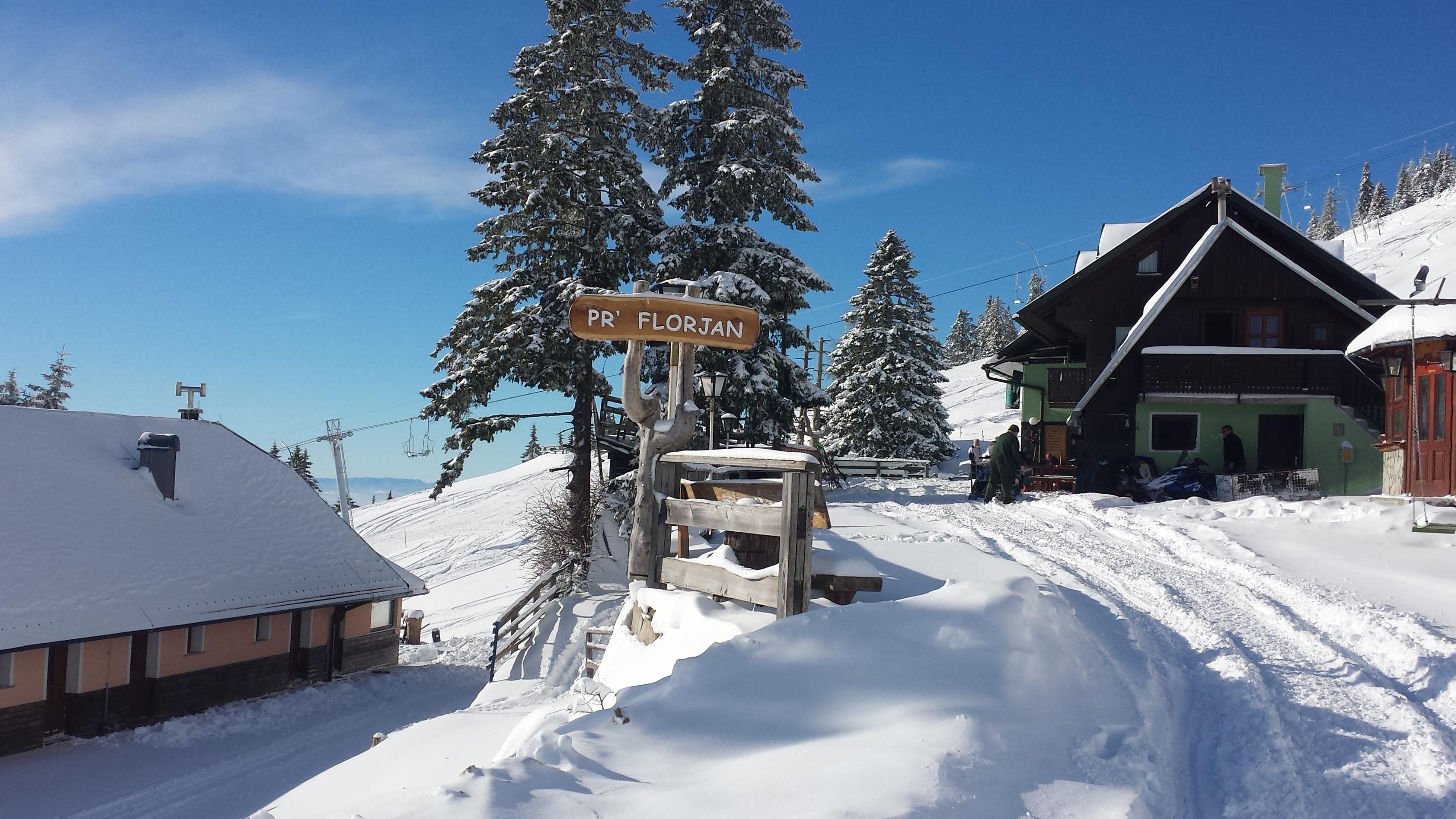 skijanje Krvavec
