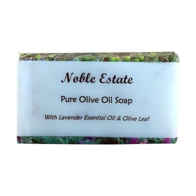 Lavender Essential Oil and Olive Leaf Bar Soap