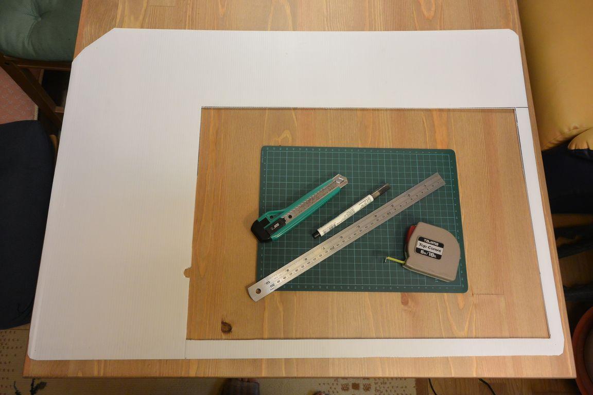 《夢想DIY》窗型冷氣邊框填補.白色塑膠冷氣板+厚木板 @ 夢想.勇氣.幸福初衷 :: 痞客邦