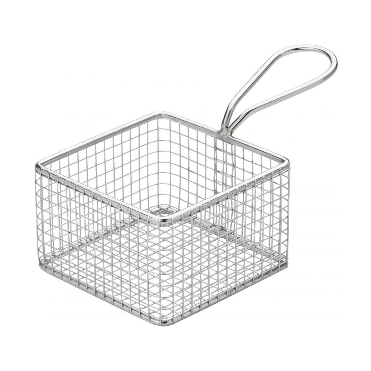 Creative Table Square Wire Service Basket