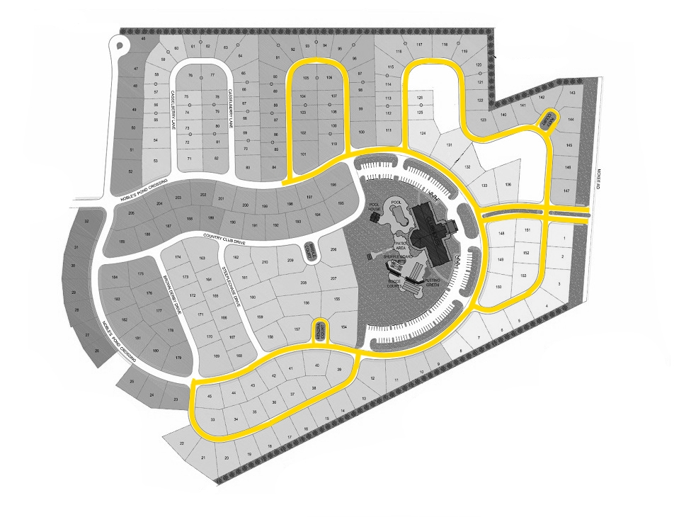 Phase 1 Map no lines BW Walking areas