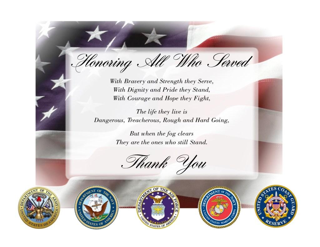 veterans day Post 2014