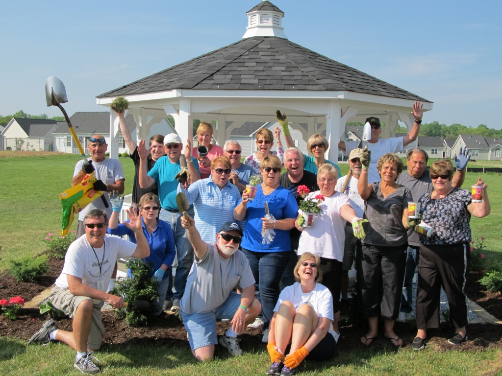 The Noble's Pond Garden Club 2015