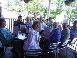 Lunch in Savannah-group