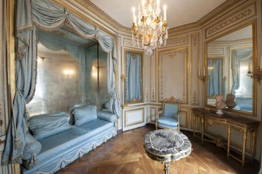 Restauration Du Cabinet De La Mridienne Versailles