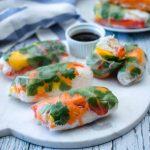 Vegetarian Fresh Spring Rolls