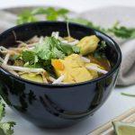 Soupe Asiatique au Tofu