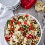 Salade de choux fleur et Pois chiche