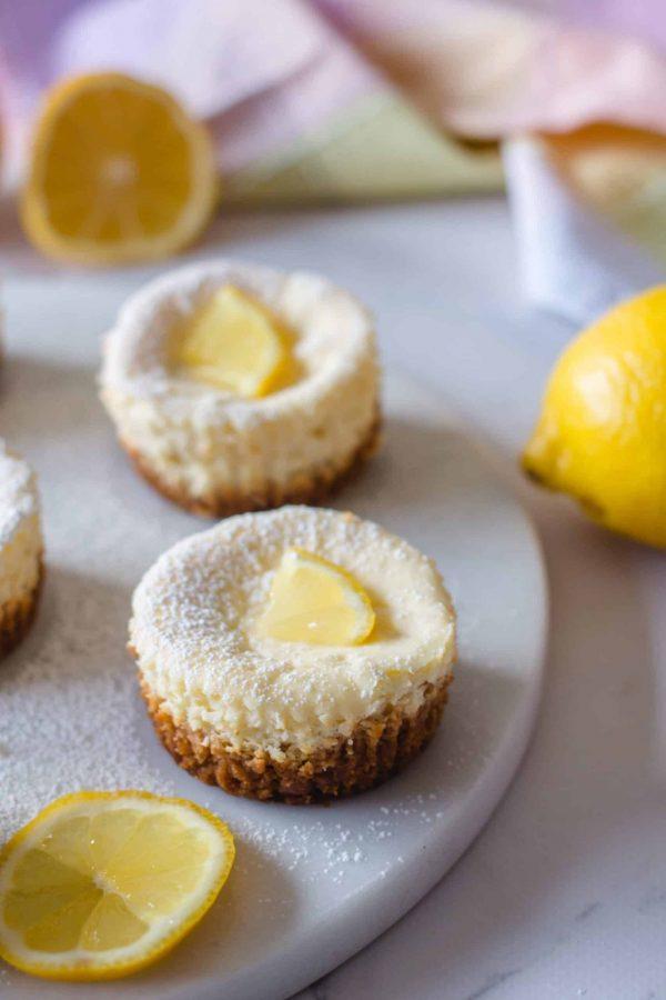 Mini Gâteaux au Fromage et Citron