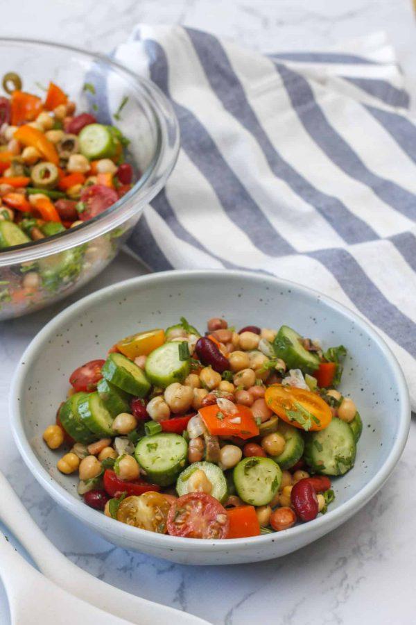 High Protein bean Salad