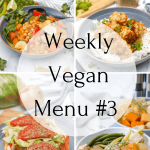 Weekly Vegan Recipes