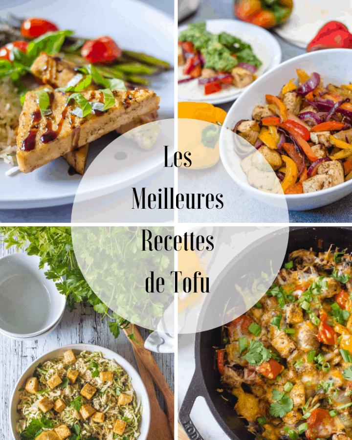 Les meilleures recettes de tofu