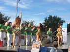 Some samba to warm up the crowd before the symphony took the stage.