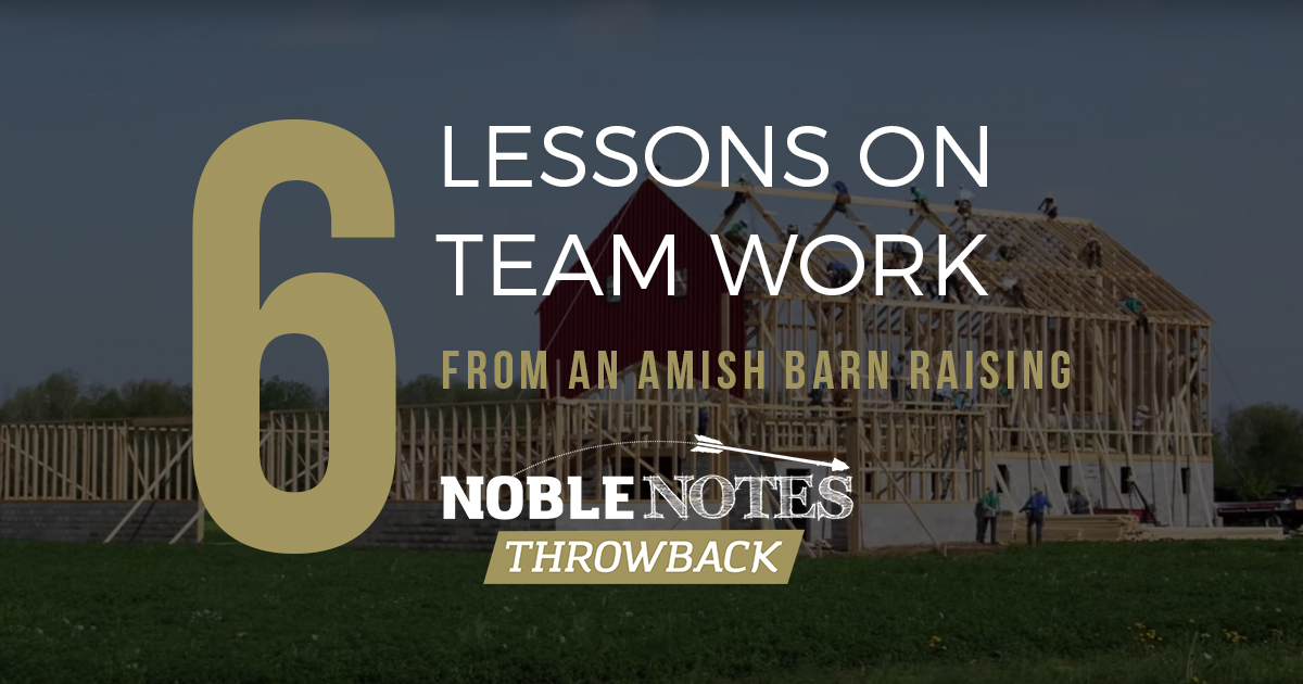 6 lessons on team