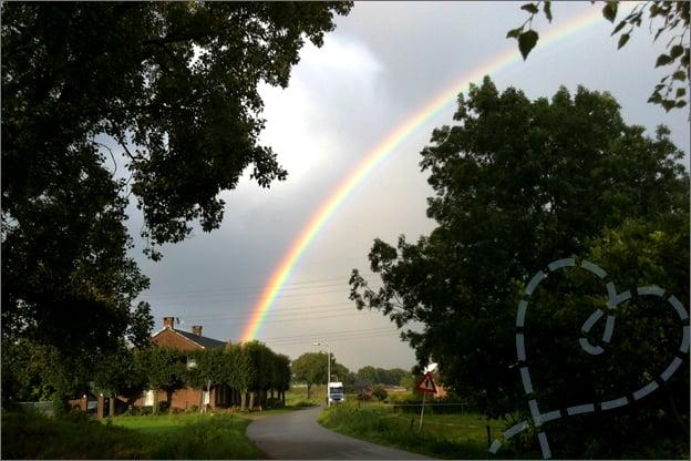 foto regenboog