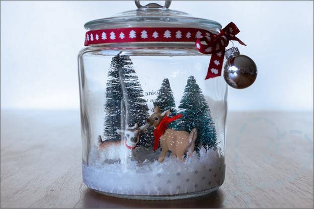 kerst stolp kerstsfeer pot