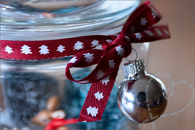 DIY strik kerst