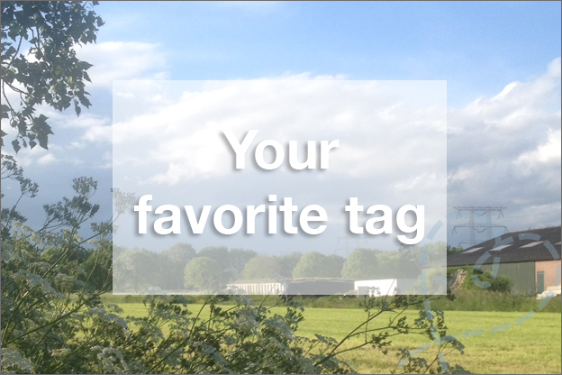 your favourite tag