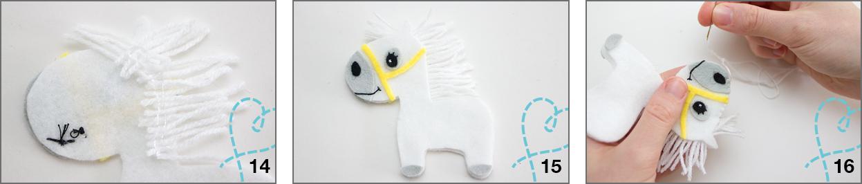paard van vilt sinterklaas