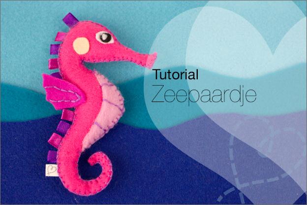 tutorial zeepaard vilt met gratis patroon