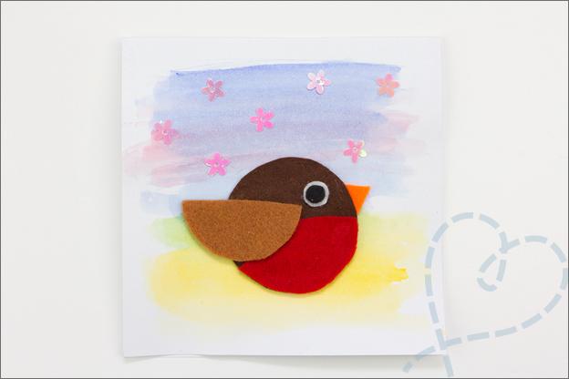 vogeltjes kaart