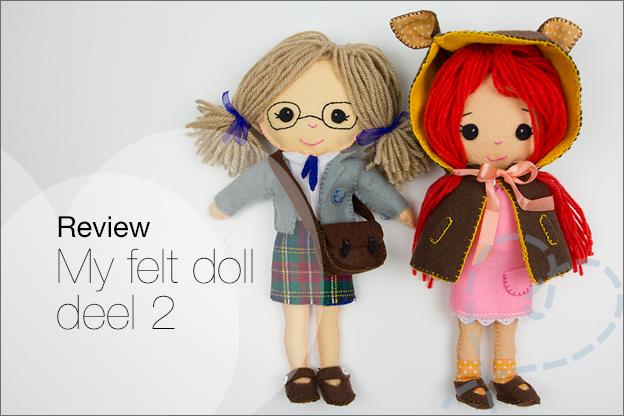 my felt doll