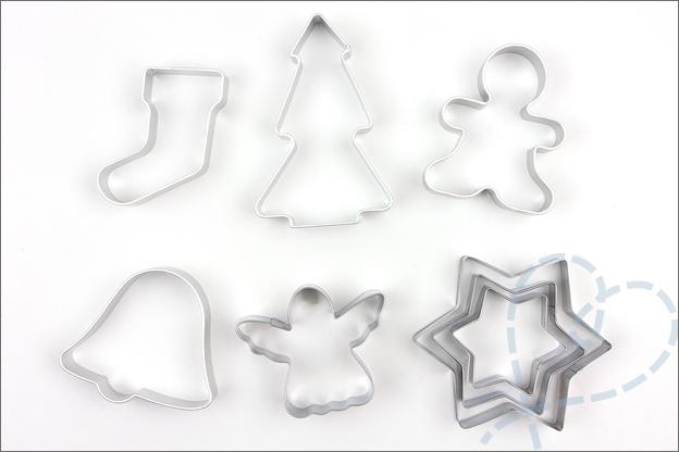kerst vormen bakken
