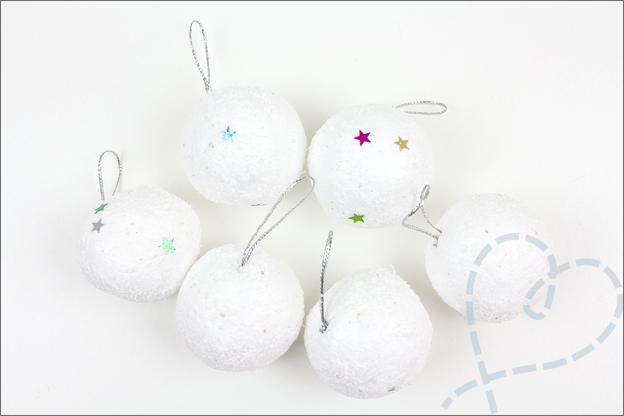 kerstballen wit