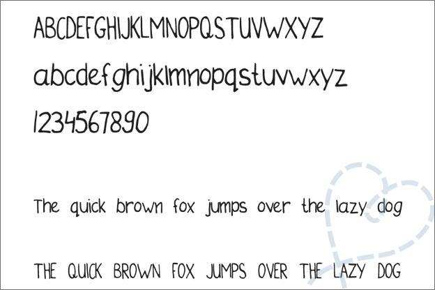 tweede eigen font