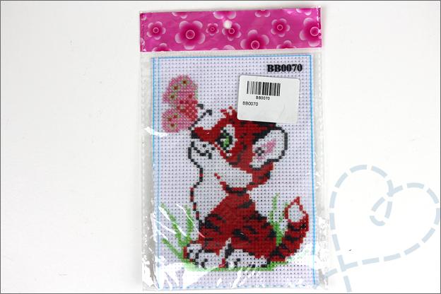 Aliexpress shoplog borduurset tijger