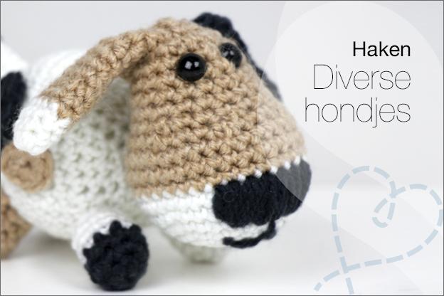 Haken gratis haakpatroon hondje nederlands