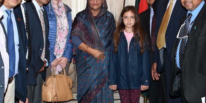 প্রধানমন্ত্রী শেখ হাসিনার সাথে বেলজিয়াম আওয়ামী লীগ এর সৌজন্য সাক্ষাৎ