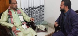 ঢাকায়  জিএম কাদেরের সাথে হাবিব খান,র  মতবিনিময়