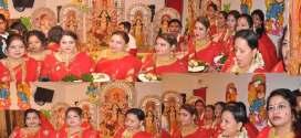 প্রতিমা বিসর্জনের মধ্যে দিয়ে শেষ হলো বাংলাদেশ হিন্দু সেবা সংঘ এর আয়োজনে পাঁচদিনব্যাপী দূর্গা পূজা